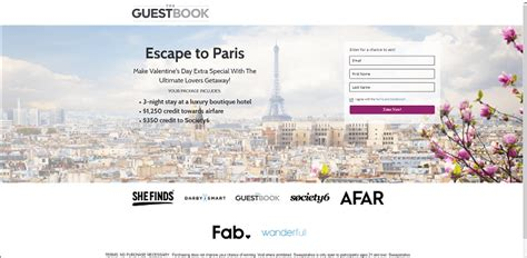 Paris Sweepstakes - sweepstakeslovers daily j r dunn jewelers sweepstakes send flowers sweepstakes more