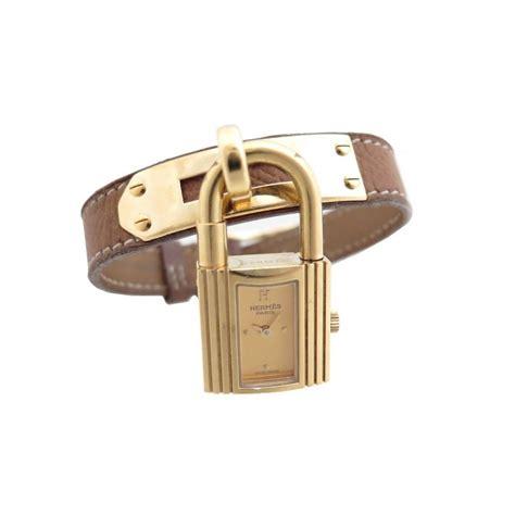 montre cadenas hermes prix montre hermes kelly cadenas plaque or dore cuir gold