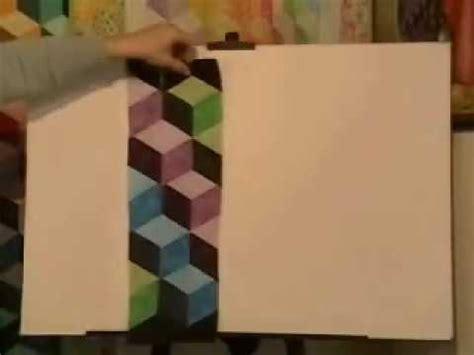 youtube pattern blocks easy strip pieced tumbling blocks marci baker of alicia s