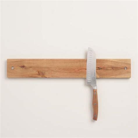 Magnetic Wooden Knife Rack by Wood Magnetic Knife Holder World Market