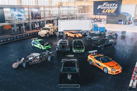 And Fast fast and furious live show all you need to car