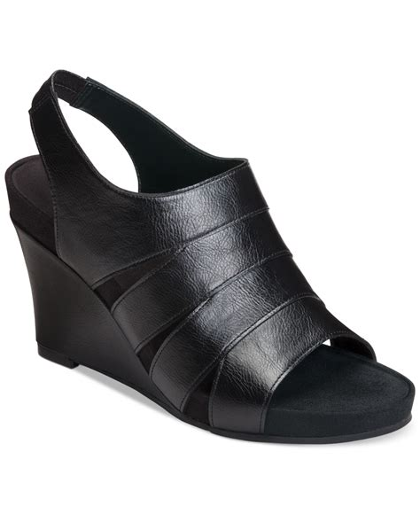 aerosoles plush wedge sandals only at macy s in
