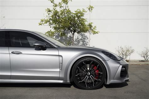porsche forgiato porsche panamera sports techart kit and forgiato wheels