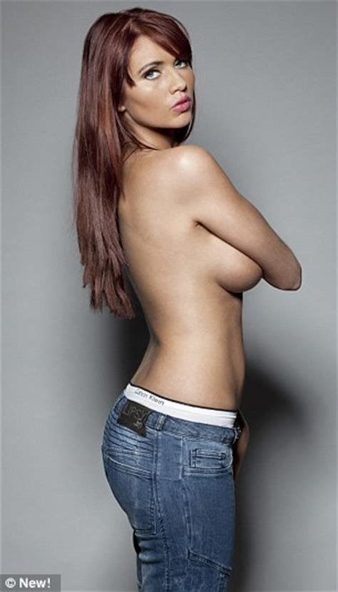 Jessica Klein by Amy Childs Poses In Shoot With The One Joe Hurlock