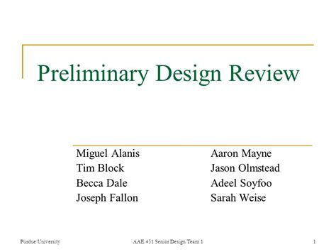 design review is preliminary design review ppt video online download