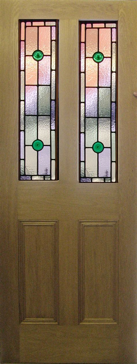 Leaded Glass Front Door Stained Glass Front Doors