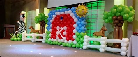 theme decoration barnyard theme party decoration in delhi gurgaon