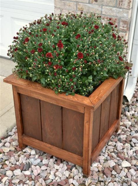 Do It Yourself Planter Box by The Box Planters And Do It Yourself On