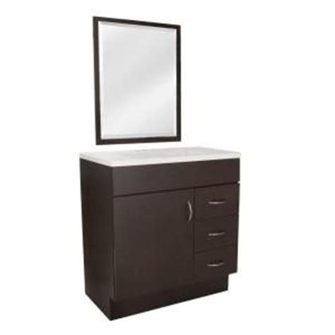 St Paul Bathroom Vanity by Vanities Home Depot And Mirror On