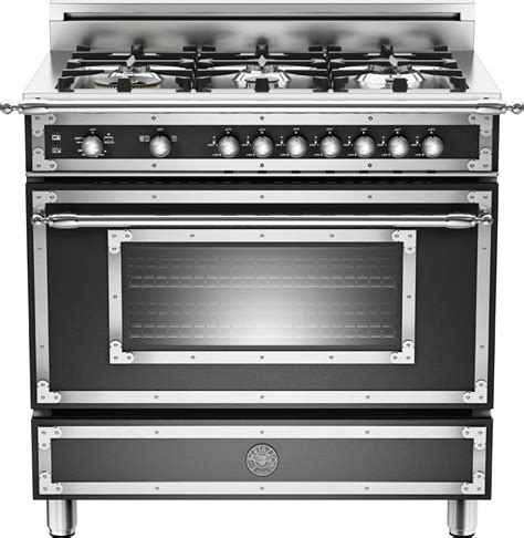 bertazzoni heritage series ranges and hoods the official bertazzoni her366gasne 36 inch traditional style gas range