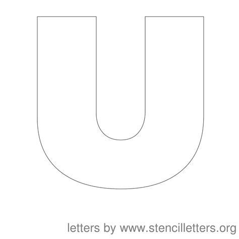 printable alphabet letter u 8 best images of printable block letter u free printable