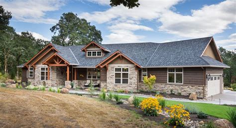 beautiful craftsman ranch house plan 9215 features 2 910