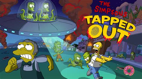 simpsons treehouse of horror figures kang and kodos animated aliens on the simpsons horrorpedia