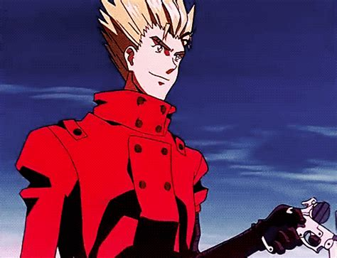 Kaiyodo Trigun Vash The Stede vash the stede gif find on giphy