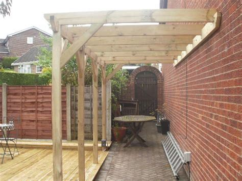 lean to pergola plans free plans and on how