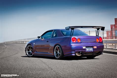 stanced nissan skyline image gallery stanced r34