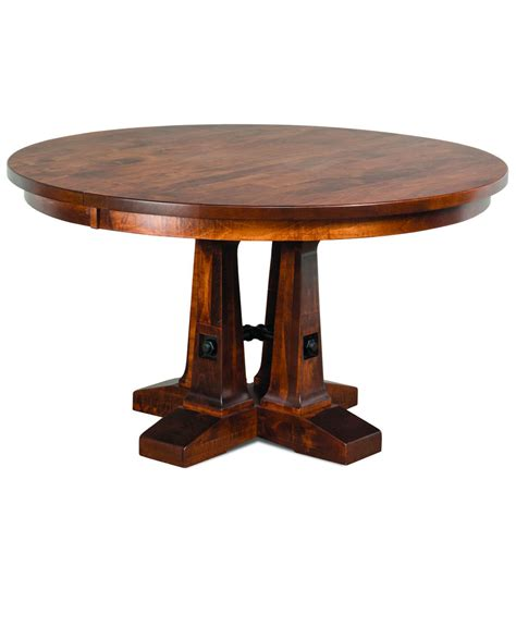 Vienna Round Dining Table Amish Direct Furniture Roundtable Or Table