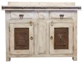 White Rustic Vanity Rustic White Vanity 23478 48x20x32 Rustic Bathroom