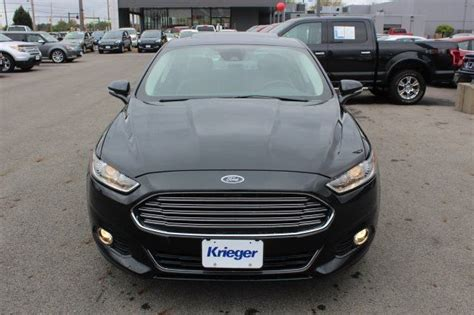 2015 Ford Fusion Turbo by 2015 Ford Fusion Titanium 33321 Tuxedo Black 4dr Car