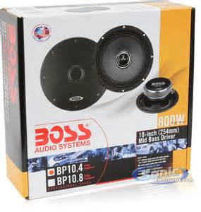 field guide to the jbl 10 inch midbass driver 2121 2122 boss bp10 4 bp104 single 4 ohm 800w 10 quot midrange midbass