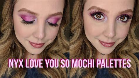 Nyx You So Mochi impressions new nyx you so mochi palettes