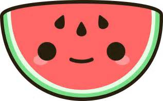 Summer Home Decor quot kawaii watermelon quot stickers by peppermintpopuk redbubble