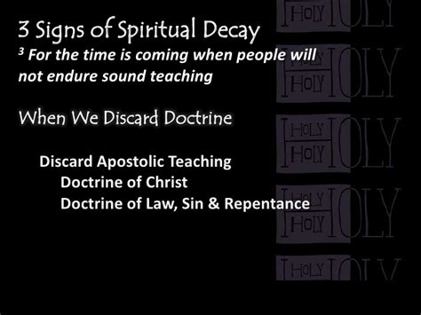 Ringing Of Ears Sign Of Detox Spirtual by Healthy Christians Make Healthy Churches Scripture