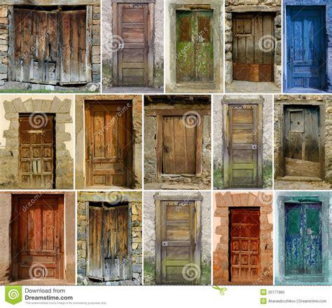 Spanish Home Plans Vintage Doors Stock Photo Image Of Detail Group Door