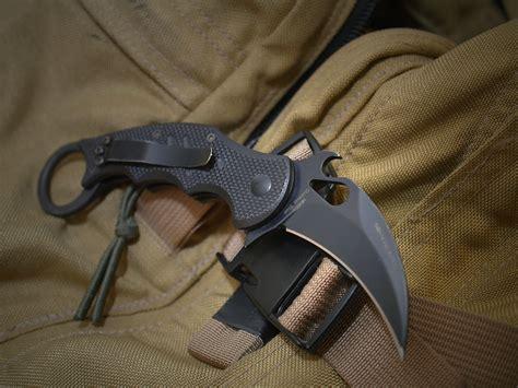 karambit folder fox knives 479 karambit g10 folder fighting knife w emerson wave knives bows tools etc