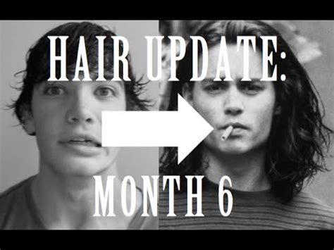 mens hair growth awkward stages men s long hair update month 6 the beginning of the