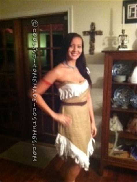 Handmade Pocahontas Costume - coolest indian costumes