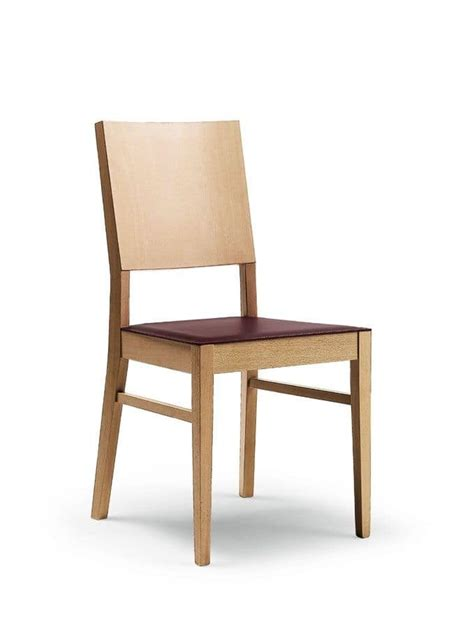 restaurant dining room chairs chair in beech wood for restaurant and dining room idfdesign