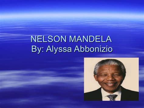 biography of nelson mandela ppt nelson mandela powerpoint