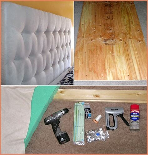 diy upholstered tufted headboard diy tufted headboardapplepins com