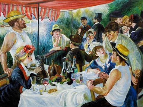 luncheon of the boating party restaurant 17 best images about breakfast lunch dinner art on