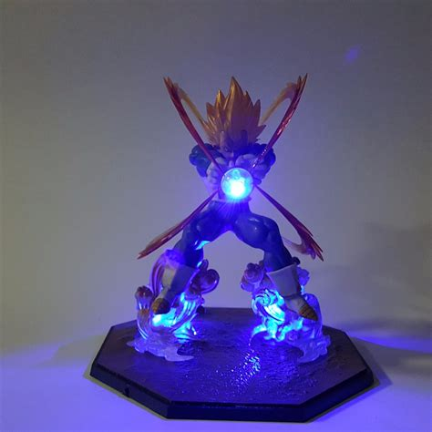 dragon ball z led l anime dragon ball z vegeta super saiyan led kamehameha