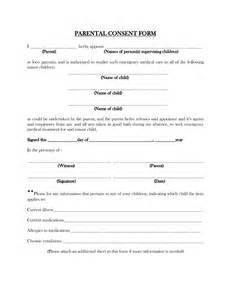 Parental Consent To Travel Form Template by Best Photos Of Parental Consent Form Template Parental