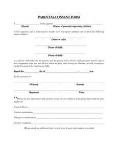 parental consent form template travel best photos of parental consent form template parental