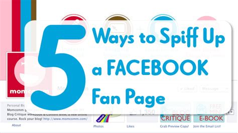 customize fan page customize fan page 5 ways to spiff up your fan page