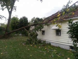 neighbor s tree fell on my house if my tree falls on my neighbor s house and there s nobody around to hear it