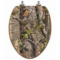Camouflage bathroom decor hardwoods camo pattern by realtree