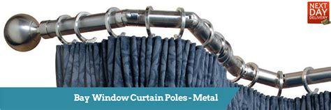 5 sided bay window curtain rods bay window curtain poles bay poles direct fabrics