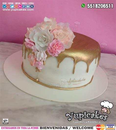 como decorar un pastel con glaseado pastel de cumplea 241 os decorado con flores y glaseado dorado