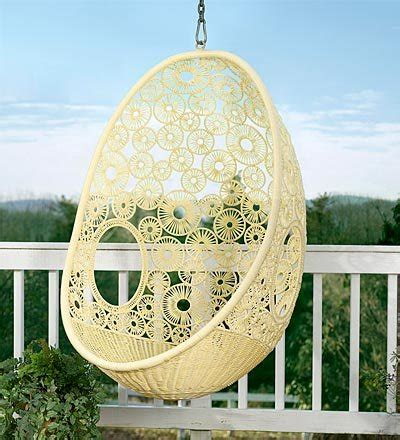 Hanging Reading Chair by Similar In Shape To The Anthropologie Hanging Chair This
