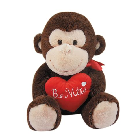 stuffed animals valentines day 19 quot s day stuffed animal monkey with