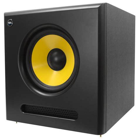 Speaker Simbadda Cst 01 Rms 38 Watt seismic audio active 10 inch studio subwoofer 100 watts rms 8 ohms ebay