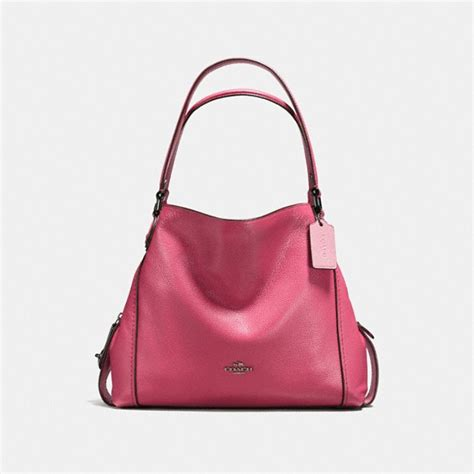 Coach Dinkier With Pink coach edie shoulder bag