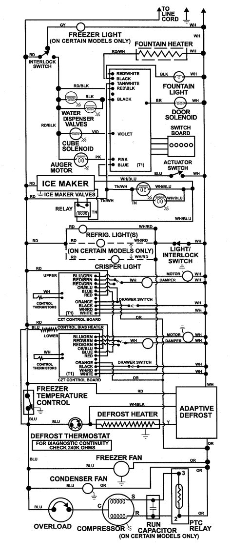 maytag refrigerator wiring diagram wiring information diagram parts list for model msd2758drb maytag parts refrigerator parts