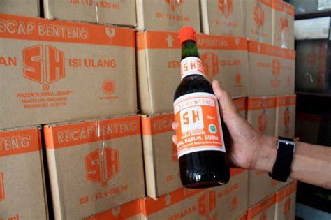 Botol Kecap Ukuran Besar inilah kecap benteng cap sh kecap legendaris tangerang merahputih