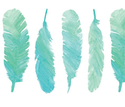 Amazon Home Decor blue watercolor feathers fabric alchemyhome spoonflower